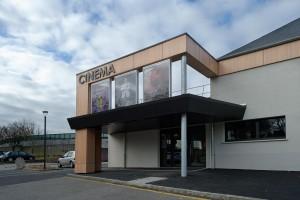 Entrée du Cinéma le Palace à Equeurdreville-Hainneville (50)