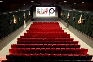 La salle du cinéma le Palace à Equeurdreville-Hainneville (50)
